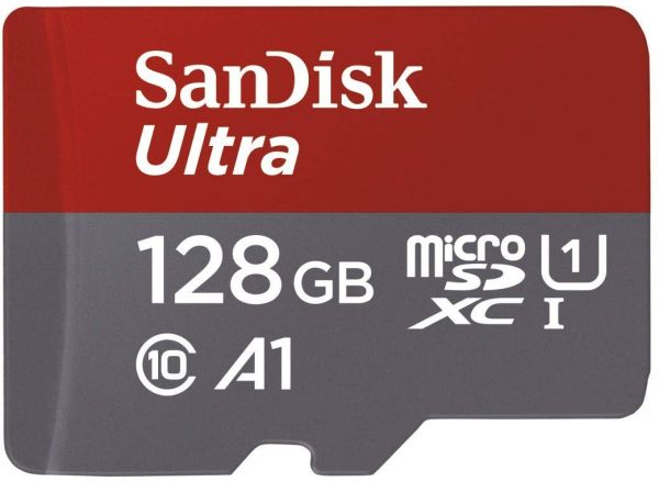 d924977a2 Sandisk Ultra 128GB Micro SDXC UHS-I Card with Adapter - 100MB s U1 A1 -  SDSQUAR-128G-GN6MA