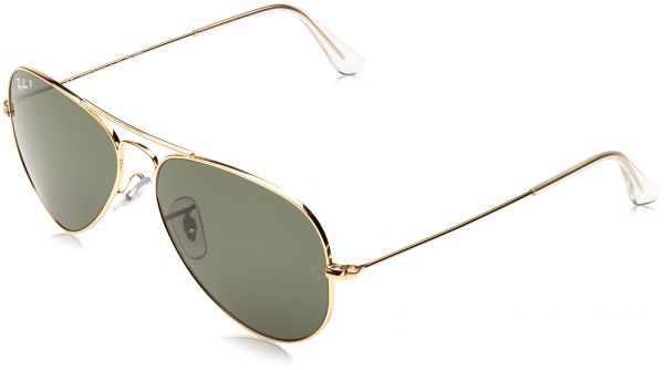 66c8ccd44f Ray-Ban 3025 Aviator Large Metal Non-Mirrored Polarized Sunglasses ...