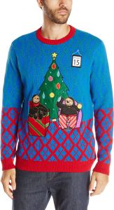 9a723f66c16 Blizzard Bay Men s a Sloth s Christmas Light up Ugly Christmas Sweater