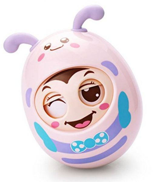 Ndream Cartoon Baby Tumbler Toy Rattle Toy Hand Holding Winking Toy