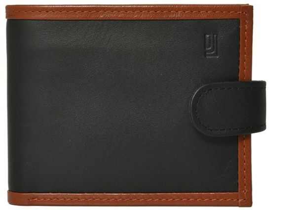 Jafferjees Black Leather For Men Bifold Wallets Souq Uae