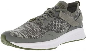 468a62072e4e Puma Men s Ignite Evoknit Lo Grey Heather Ankle-High Running Shoe - 9.5M