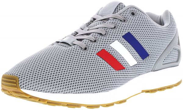f7581e798 Adidas Men s Zx Flux Mid Grey   Footwear White Core Red Ankle-High ...