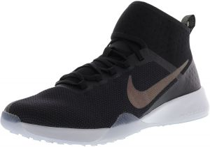 5648c1aba1d Nike Women s Air Zoom Strong 2 Metallic Black   Multicolor Ankle-High Mesh  Training Shoes - 9.5M