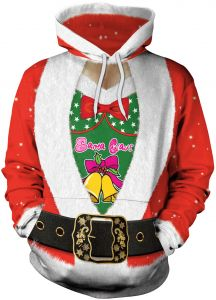 6b54240d1 christmas Hoodie Unisex Funny Ugly Sweater 3D Printed Pullover Sweatshirts  for men women Lovers family
