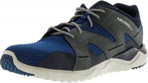 498c74456 Merrell Men s 1Six8 Mesh Poseidon Blue Ankle-High Fashion Sneaker - 7.5M