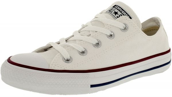 bb63d8bca543 Converse Men s Chuck Taylor All Star Core Low Top Canvas B Bright White  Fabric Fashion Sneaker - 4.5M