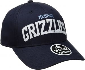sports shoes 1a6dd fb8fe adidas NBA Memphis Grizzlies Women s Flashy Sequinced Wordmark Structured  Adjustable Hat, Navy, One Size