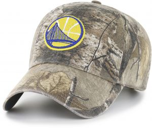cf7ba356f8ab OTS NBA Golden State Warriors Realtree Challenger Clean Up Adjustable Hat
