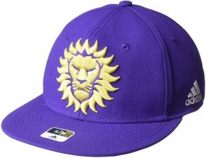 7c74c3726e1 adidas MLS Orlando City SC Men s SP17 Fan Wear Oversized Logo Fvf Cap