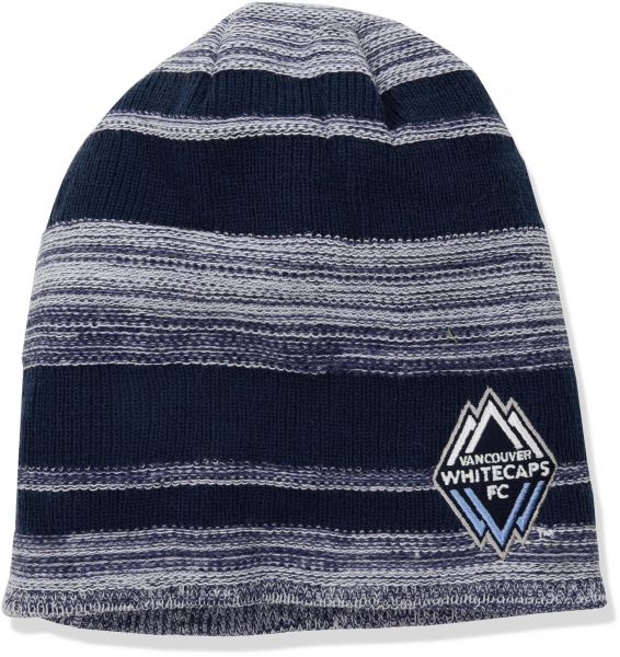 f1428a689b3 adidas MLS Vancouver Whitecaps Adult Men MLS SP17 Fan Wear Heathered Cuffless  Beanie