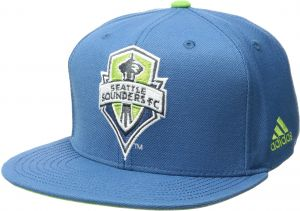 1a6a3b84c30c6c MLS Seattle Sounders FC Adult Unisex Champion Snapback with Cup, One Size,  Blue