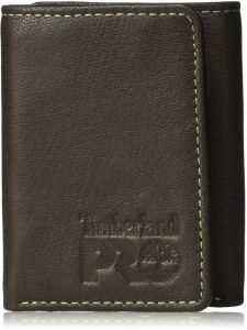 7c55261f6b9c Timberland PRO Men s Leather Trifold Wallet with ID Window