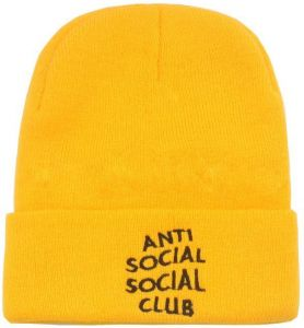 09c4f126942 Assc Anti Social Social Club Beanie   Bobble Hat For Unisex