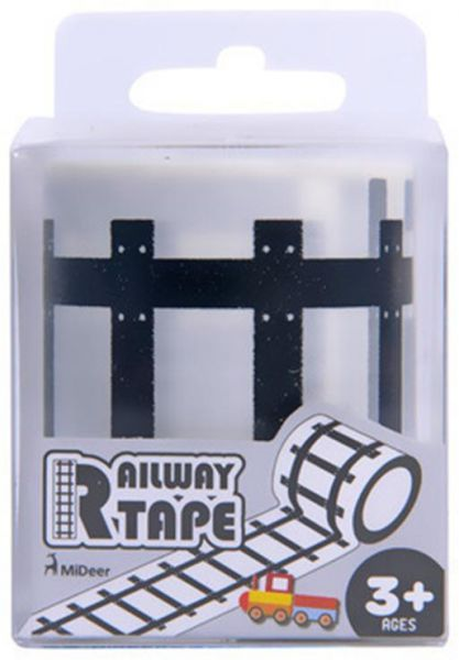 Road Tape Sets Diy Train Truck Track Stickers Pretend Play Toy Car