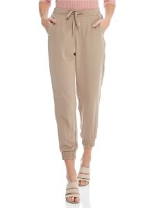 Stradivarius Drawstring Fashion Jogger for Women - Khaki d137d390a00