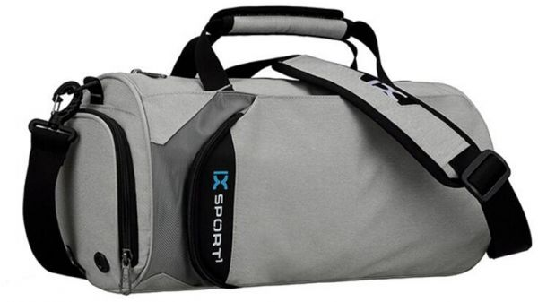 Ix Gym Bag With Shoe Compartment Sports Travling Outdoors Duffle Bag