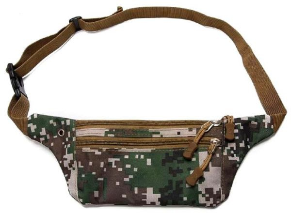 Tactical Waist Pack Portable Fanny Pack Outdoor Hiking Travel Large Army Waist Bag Military Waist Pack for Daily Life Cycling Camping Hiking Hunting Fishing ...