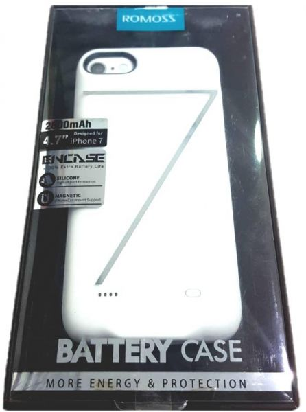 romoss battery case 2800 mAh for iphone 7 | Souq - Egypt