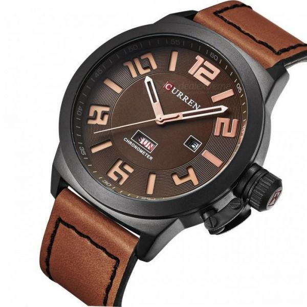 c7ffd5073823 Curren Casual Watch For Men Analog Leather - 22