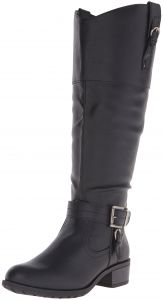 1231638a29b Rampage Women s Ivelia Fashion Knee High Casual Riding Boot