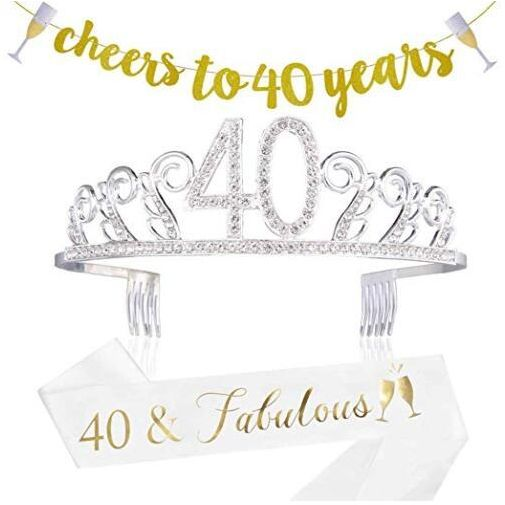 40th Birthday Decorations Party Supplies