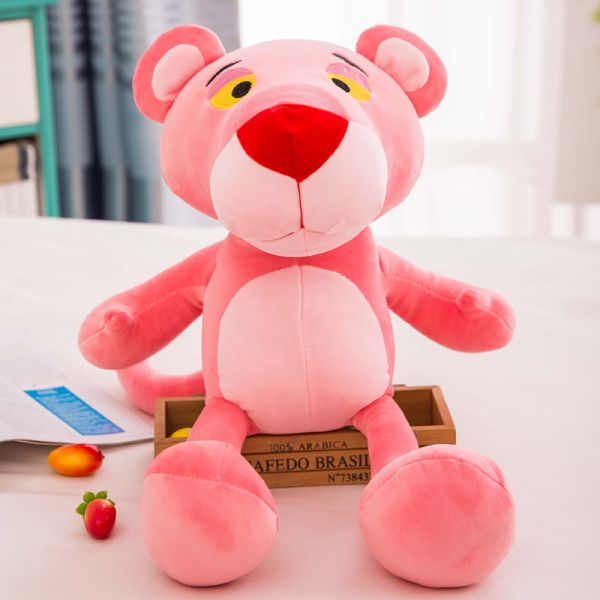 50cm Cartoon Cute Pink Panther Soft Plush Stuffed Toys Doll Birthday Gift For Chilren Girlfriends Wife