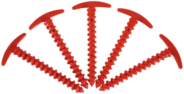 Pack of 5 Screw Spiral Tent Pegs Stakes Nail Outdoor C&ing Awning Wind Rope Fastener Ground Anchor Pegs | Souq - UAE  sc 1 st  Souq.com & Pack of 5 Screw Spiral Tent Pegs Stakes Nail Outdoor Camping Awning ...