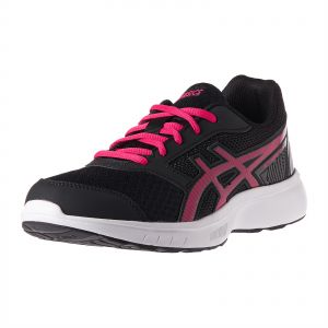 9bbb5cfba68b Asics T893N-001 Sports Sneakers for Women - Black Pixel Pink