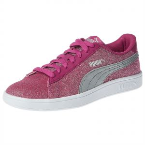 a63d9a1a4c53 Puma Smash V2 Glitz Glam Sneakers for Girls - Pink