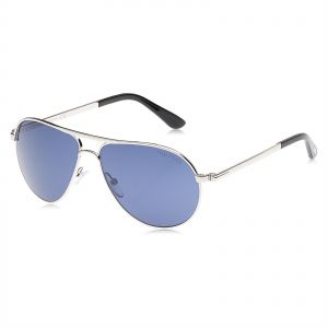 f8ecf9b8dc5b6 Tom Ford Marko Aviator Sunglasses for Men - Blue Lens