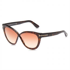 cfb96530f18 Tom Ford Arabella Cat Eye Sunglasses for Women - Brown Lens