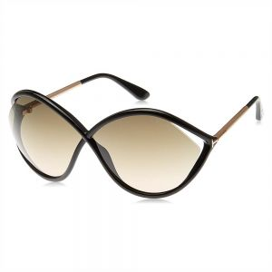 752dcbf66a Tom Ford Butterfly Sunglasses for Women - Brown Lens