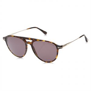 fb132c4e2ebc Tom Ford Round Unisex Sunglasses - Grey Lens