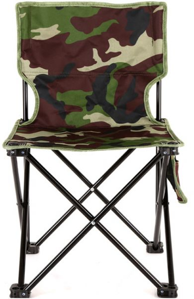 Outdoor Leisure Fishing Folding Chair Small Bench Double Camouflage Canvas Portable M Souq Uae