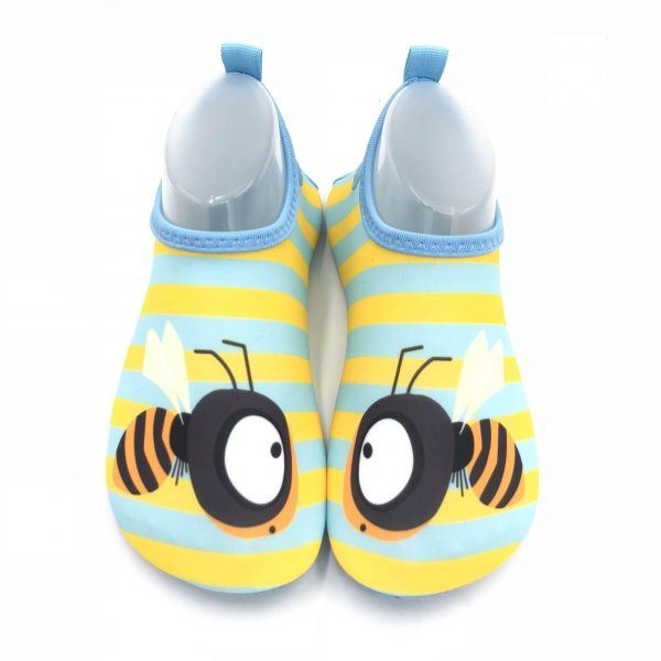 4a873f9ee29f Womens and Mens Kids Water Shoes Barefoot Quick-Dry Aqua Socks for Beach  Swim Surf Yoga Exercise Size 34