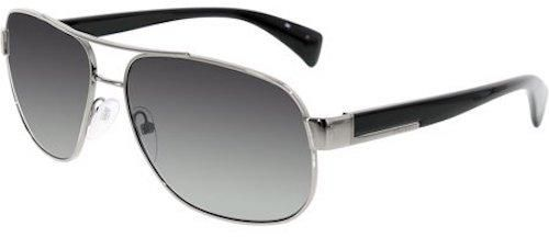 93ce7019c90 PRADA mens aviator sunglasses Black polarized SPR 52P 6115 5AV-5W1 ...