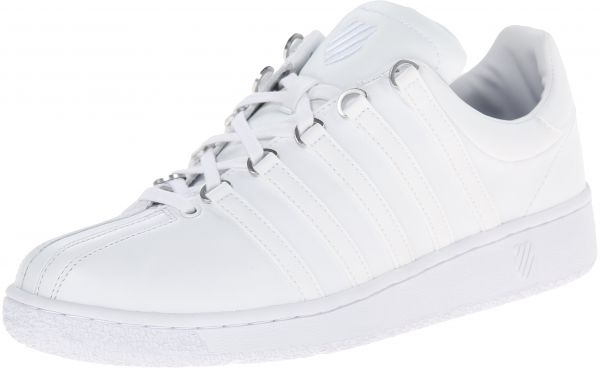 a00befc2891d K-Swiss Men s Classic Vintage Updated Iconic Shoe 9 M US White White ...