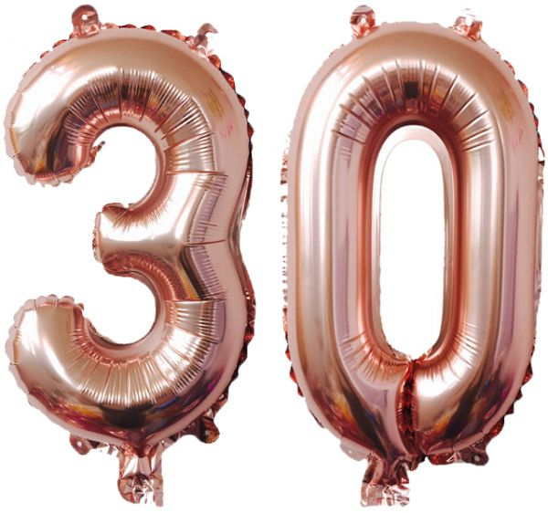 30th Birthday Decorations Party Supplies Sweet 30 Balloons