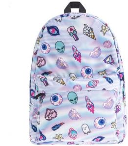 d5a64312a8 Lightweight School Bags for Girls KESENKE Unicorn Backpack School College  Bag for Teens Girls Students 3D Digital Printed Laptop Backpacks (Ice Cream)