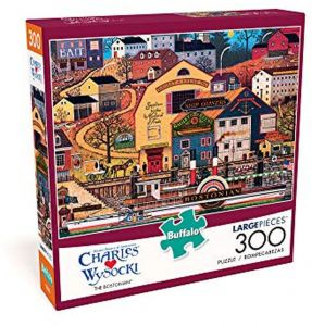 04283f5fbcdc1 Buffalo Games- Charles Wysocki- The Bostonian- 300 Large Piece Jigsaw Puzzle