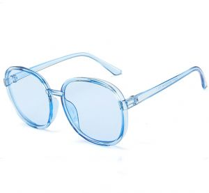 0491ec056e70 Jelly-Colored Oversized Sunglasses Women s Sunglasses Colorful Sunglasses  for Women Blue