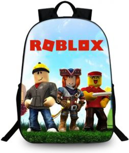 Roblox Backpack Travel Bag student schoolbag for Teenager men women boy e2bbdb4ddcc0d