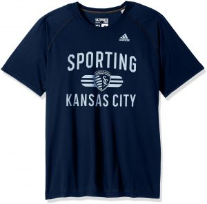 2d019e0ea adidas MLS Sporting KC Adult Men Sprint Ultimate S Tee