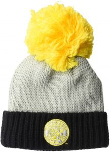Youth Boys 1 Size MLS by Outerstuff Cuffed Knit Hat with Pom Dark Navy 5