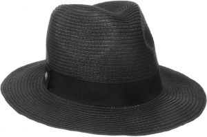 a53267fe5ca79 Coal Women s The Abbie Lightweight Paper Straw Fedora with Ribbon
