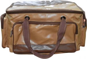 c3c03061763 AL SANIDI Leather Duffle Bag For Men