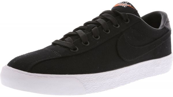 1e722c3cf Nike Women s Zoom Lauderdale Fragment Black   Black-White Ankle-High Canvas Fashion  Sneaker - 7M