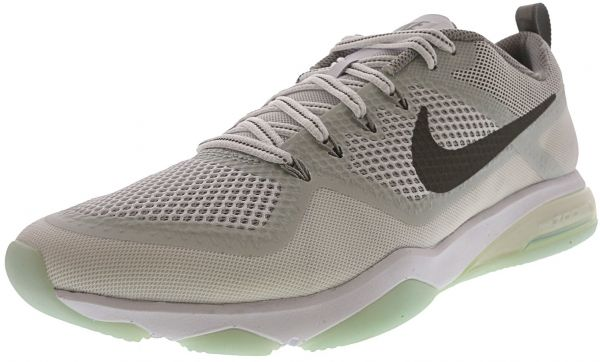 fa5602ef2c048 Nike Women s Air Zoom Fitness Reflect White   Silver Ankle-High ...
