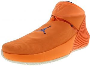 quality design 20e3b f6ca0 Nike Men s Jordan Why Not Zero.1 Orange Pulse   Hyper Royal Sail Mid-Top  Basketball Shoe - 10M